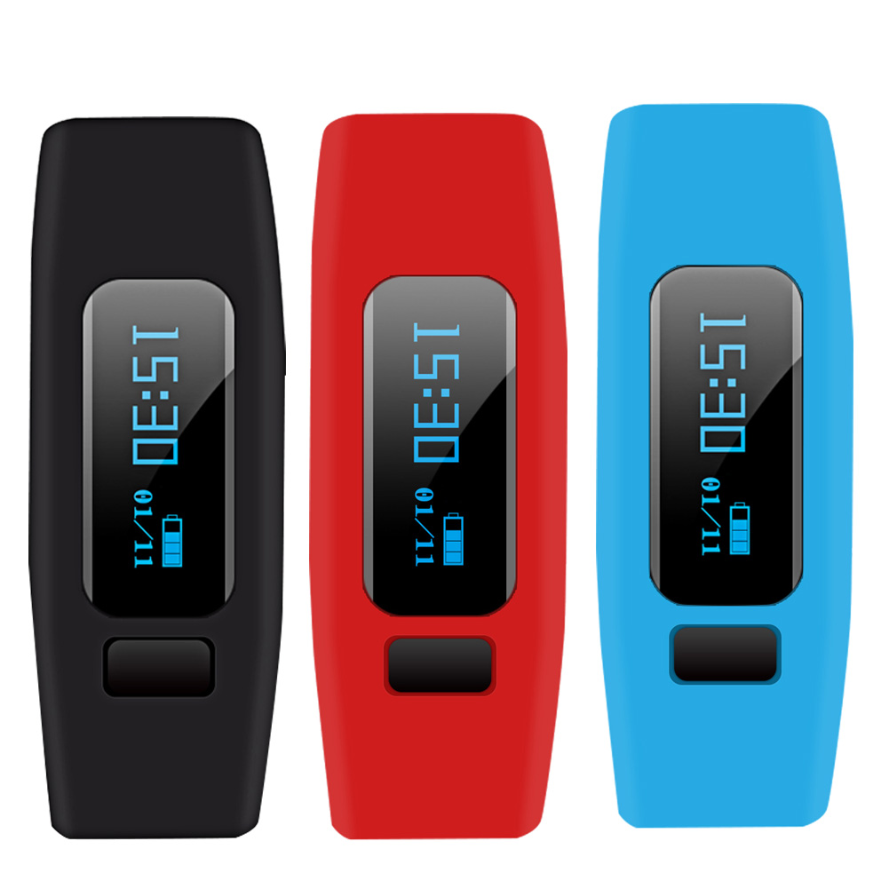 Screen Health Smart Band Watch Bracelet Sports Fitness Tracker Sleep Monitor Bluetooth 4 0 OLED Silica