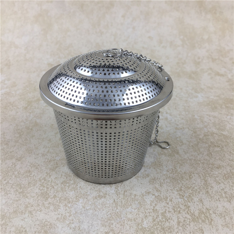 80mm X 80mm Homebrew Dry Filter Stainless Steel Hop Steeper - Herb Ball dry hopping Filter home brew (2)