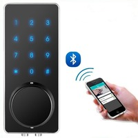 OS8815BLE YS BT Electronic Keyless Back lighted Keypad Door Lock Unlock With Bluetooth Code Key Digital Security Lock