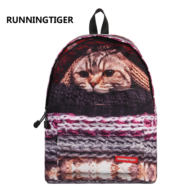 2017 Brand Design Women Backpack College Student High School Bags For Ladies Girl Teenager Back Pack