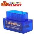 Última versão super mini bluetooth elm327 Obd2 ELM 327 Bluetooth Smart Car Interface de Diagnóstico ELM 327 V2.1 Digitalização ferramenta