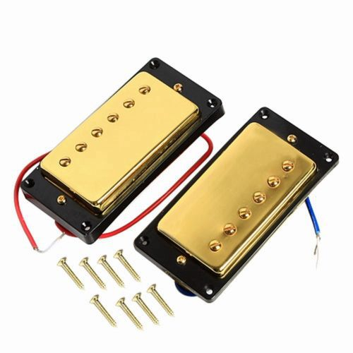 Gold 1 set Double Coil Humbucker Pickup Set for ETC Guitar Replacement electric guitar pickups humbucker double coil pickup guitar parts accessories black