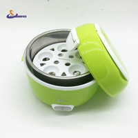 YJ HUMIDIFIER 2016 Newest 1 2L Portable Lunch Box Electric Rice Cooker 200W Multifunction Mini Rice