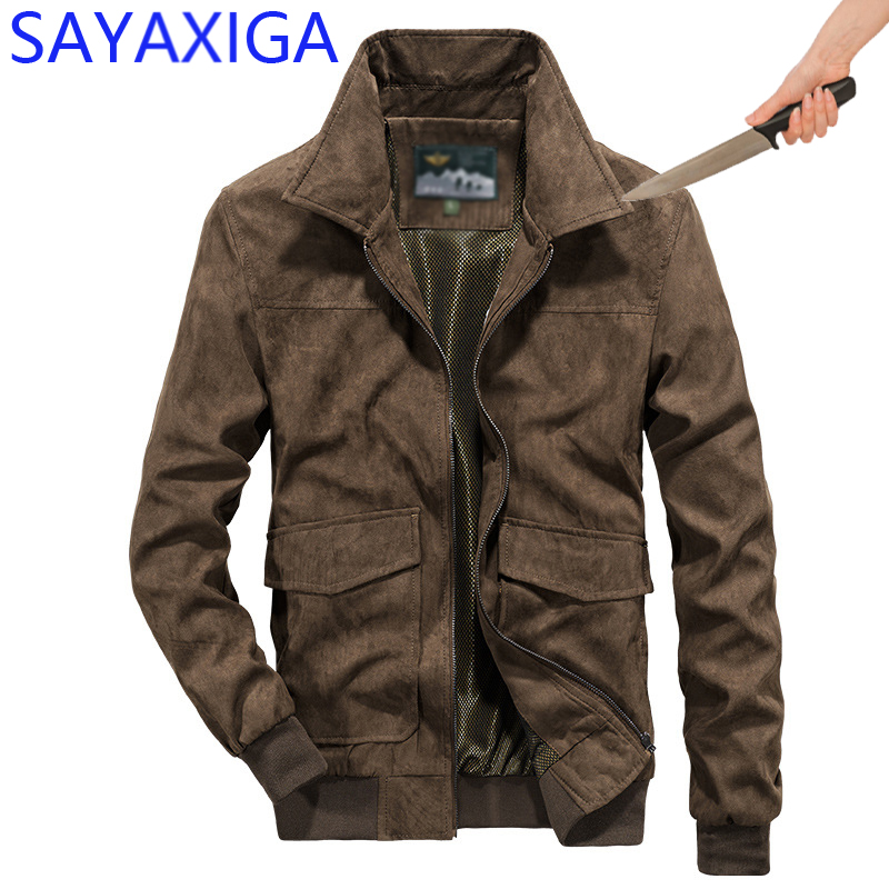 Jackets & Coats Honest Self Defense Anti-cut Jacket Men Anti Stab Clothing Anti-knife Cut Resistant Outfit Hooded Velvet Stealth Soft Stab Jackets Coat