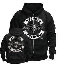 Bloodhoof AVENGED SEVENFOLD MENS A7X  BAND HOODIE : Asian Size