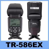 Новый Triopo TR-586EX Режим беспроводной вспышки ttl лампа-вспышка Speedlite для камеры Nikon D750 D800 D3200 D7100 DSLR Камера как Светодиодная лампа для видеосъемки ...