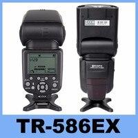 Nieuwe Triopo TR-586EX Draadloze Modus Flash TTL Speedlite Speedlight Voor Nikon D750 D800 D3200 D7100 DSLR Camera als YONGNUO YN-568EX