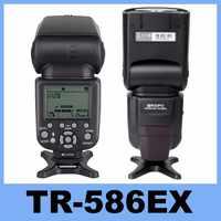 Triopo TR-586EX Mode sans fil TTL Speedlite Speedlight pour Canon 5D Nikon D750 D800 D3200 D7100 DSLR appareil photo comme YONGNUO YN-568EX
