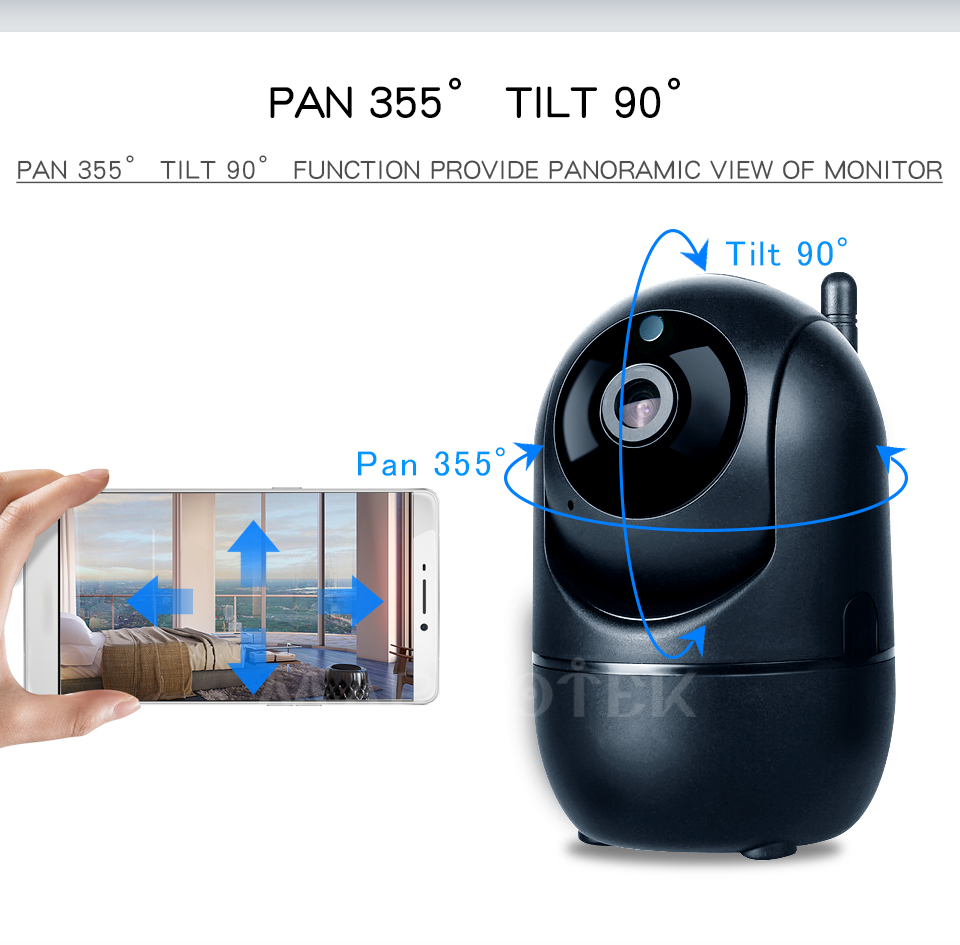 HTB1jqslKpzqK1RjSZSgq6ApAVXaR 1080P Full HD Wireless IP Camera Wifi IP CCTV Camera Wifi Mini Network Video Surveillance Auto Tracking Camera IR Night Vision