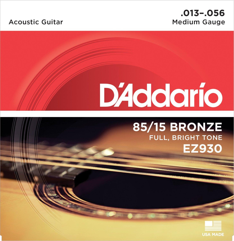 D'Addario Great American Bronze 85/15 akoestische gitaarsnaren, Made - Muziekinstrumenten - Foto 6