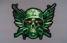 Embroidery Twill Biker Patches for Jacket Back Full Size and Full Set Resident Evil Motorcycle