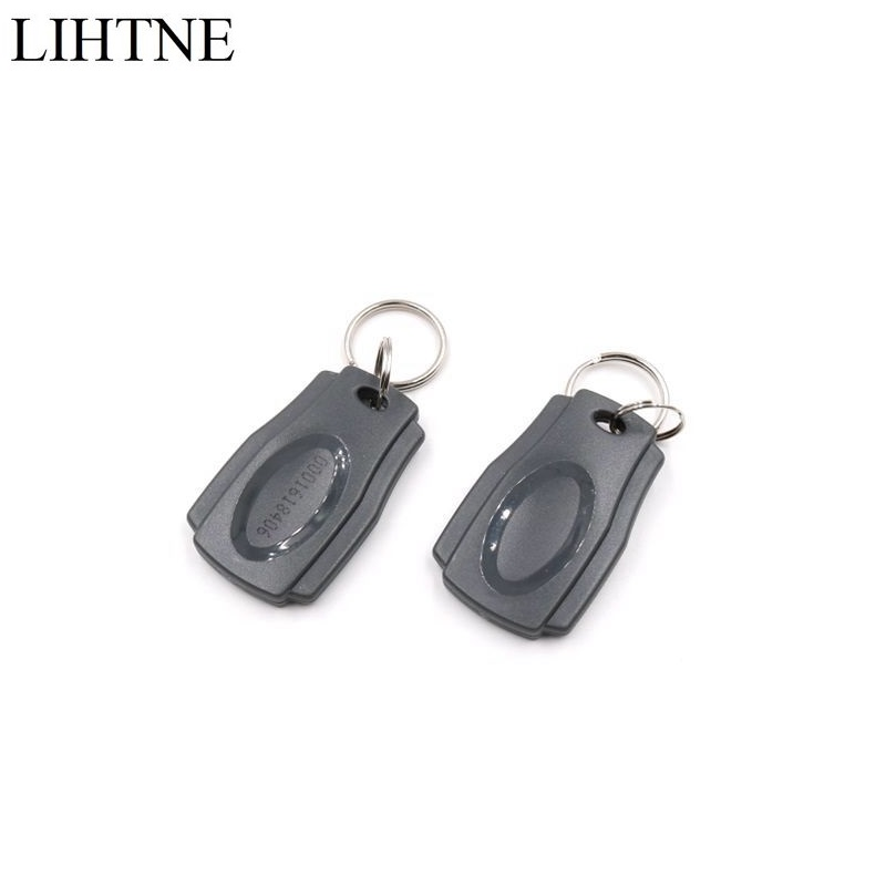 2PCS/lot TK4100 125KHz RFID Proximity ID Keyfobs ID Card Tag Token Tag For Door Access Control 100pcs125khz rfid proximity keyfobs ring access control card rfid id tag door entry access control em key chain token