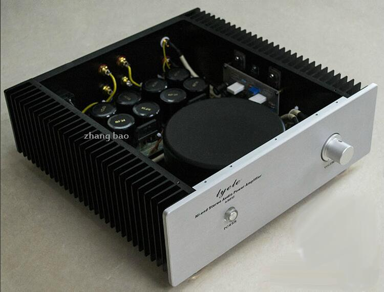 Finished A30 stereo FET Class A Power amplifier 30W MOSFET HIFI AMP цена