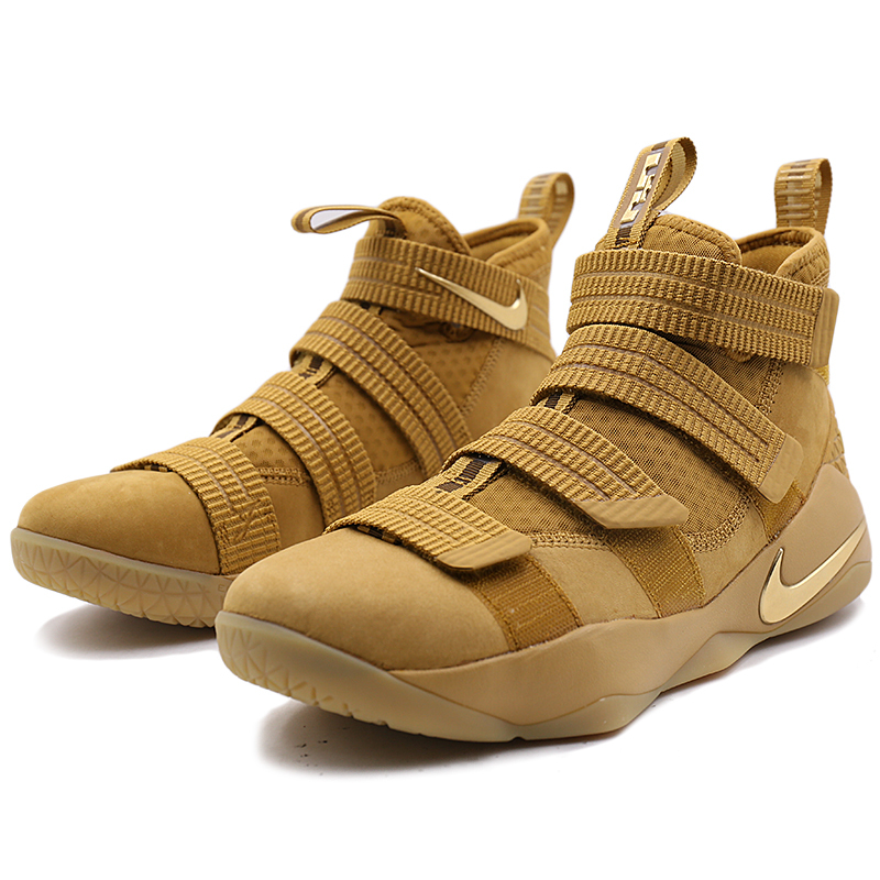 reputable site 1f059 5c2b7 US $106.96 30% OFF|NIKE Original New Arrival Mens Basketball Sneakers  LeBron Soldier Breathable Footwear Super Light Outdoor For Men 897647  700-in ...