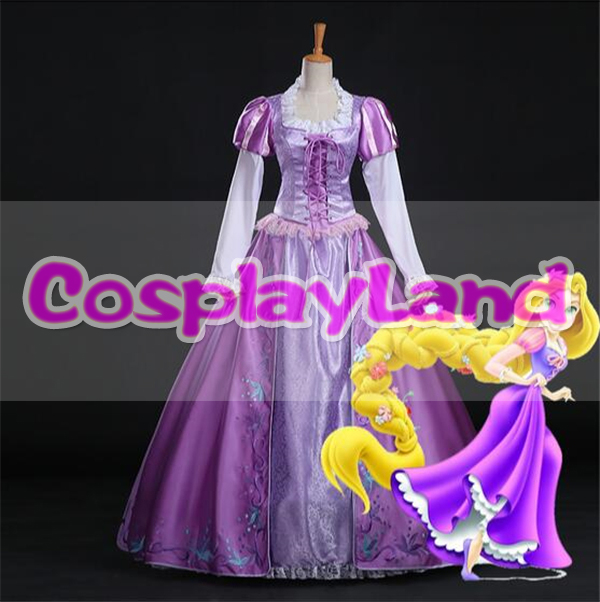 Halloween Costumes for Women Adult Dress Rapunzel Dress Rapunzel Princess Tangled Costume Rapunzel Tangled Cosplay Costume