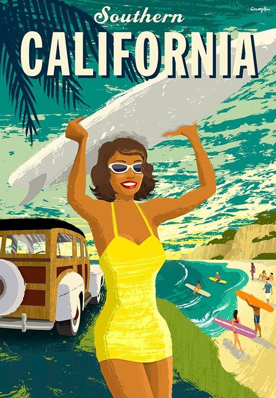 Risultati immagini per california poster