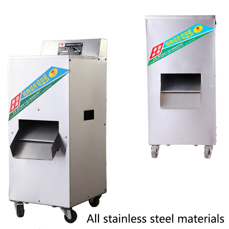 1800W electric meat slicer meat grinder stainless steel multipurpose commercial stuffer mincer 1PCS