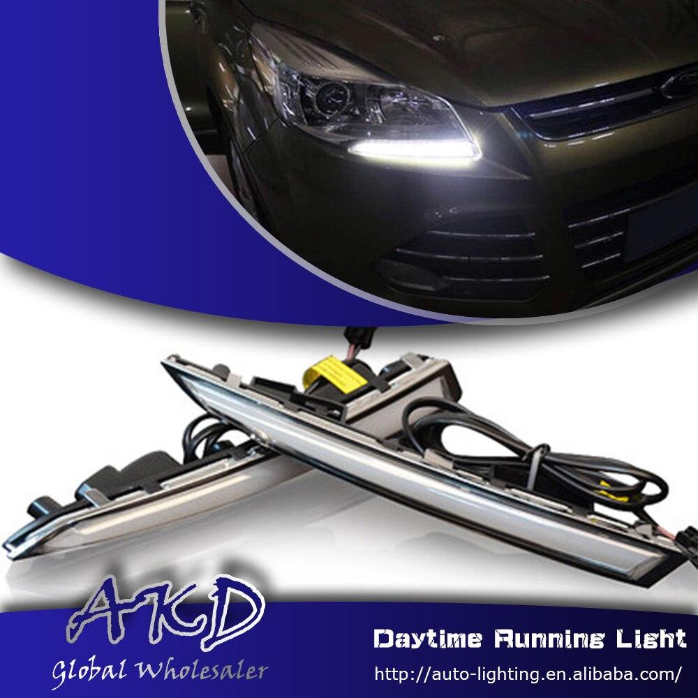 2X18W Eagle Eye Lamp Daylight LED DRL Fog Daytime Running Cars Lights Tail RR