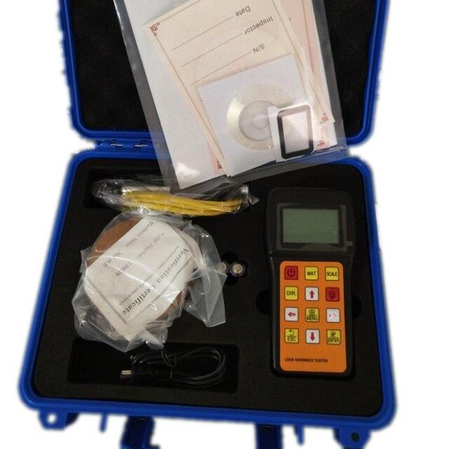 נייד קשיות Tester דיגיטלי תצוגת ריבאונד Leeb קשיות מד למדוד מתכת סגסוגת HRC HL HB HV HS HRB מד קשיות JH180