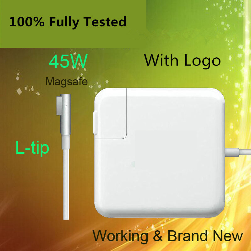 Crazy Cow For Magsafe 45W 14.5V 3.1A Power Adapter Charger For Apple For MacbooK Air 1113 A1244 A1374 A1304 A1369 A1370 new original magsafe 2 45w 14 85v 3 05a laptop power adapter charger for apple macbook air 11 13 a1465 a1436 a1466 a1435
