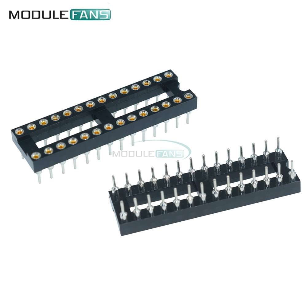 10pcs 8Pin DIP-8 SIP Round IC Sockets Solder Type ASS
