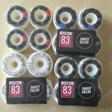 New Original Sweet 49mm 50mm and 52mm 53mm Brand Skate boarding Wheels 101A Wheels for Skateboard Board
