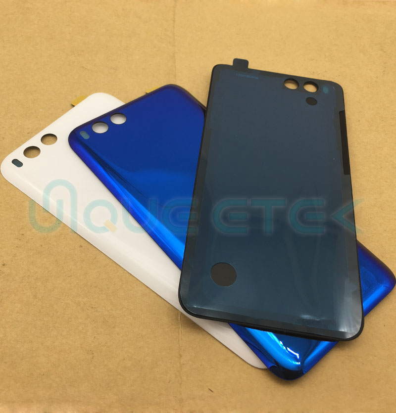 <font><b>Original</b></font> Back Glass For <font><b>Xiaomi</b></font> <font><b>Mi6</b></font> <font><b>Battery</b></font> <font><b>Cover</b></font> Surface protective phone case for <font><b>xiaomi</b></font> <font><b>mi6</b></font> M6 Rear Door Housing Replacement image