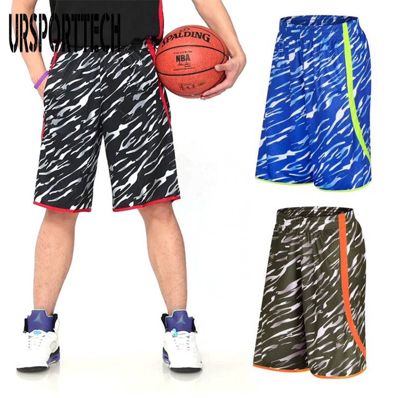 URSPORTTECH Brand Mens Shorts Summer Breathable Fitness Work Out Short Man Cargo Shorts Big Size 5XL
