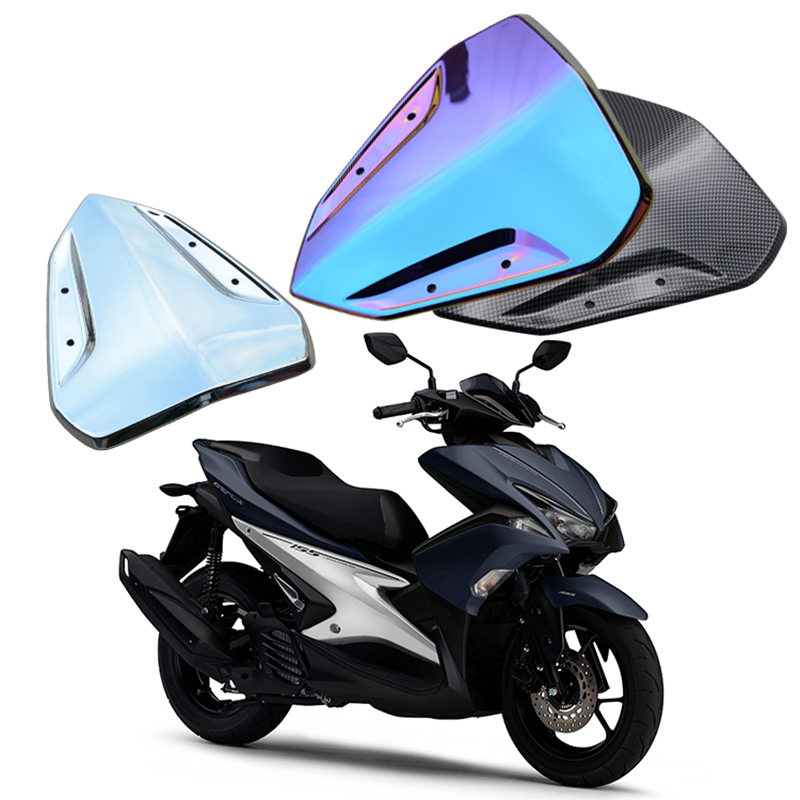 Motorcycle accessories for Yamaha NVX155 AEROX155 Motorcycle scooter modified front windshield Plastic Front wind protection рубашка mango man mango man he002emyer36