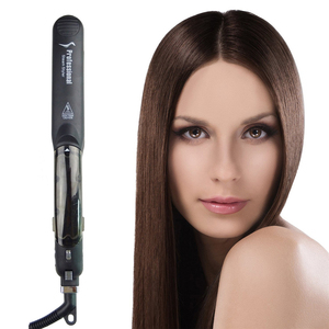 Image 3 - פונקצית קיטור שטוח ברזל טורמלין קרמיקה אדי מקצועי שיער מחליק עם Argan שמן עירוי מיישר מגהצים