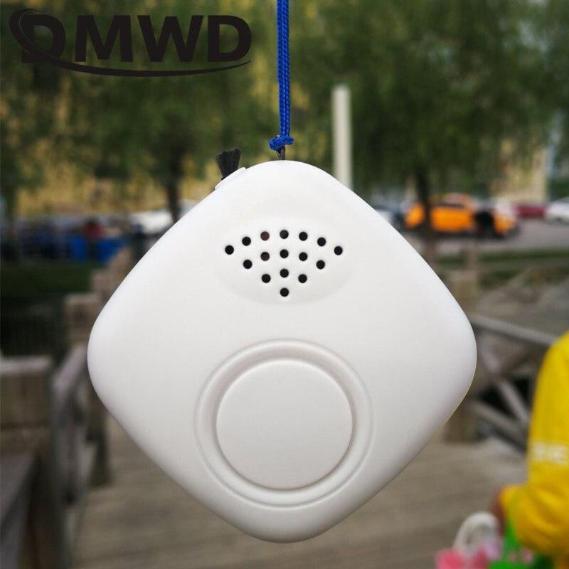 DMWD Anion Negative Ionen Generator Tragbare Luftreiniger Persönliche Portable USB Mini Ionisator Rauch Reiniger Filter Sauerstoff Lufterfrischer
