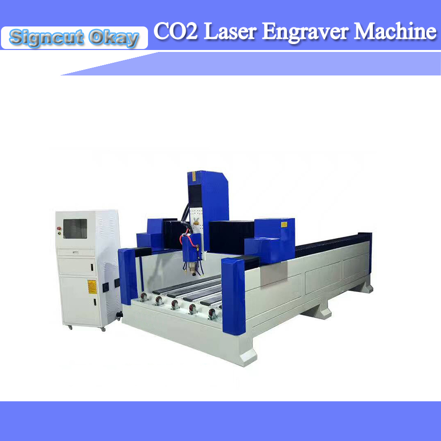 High Configuration 1300*2500mm Working Size CNC Stone Engraving Machine 1325 With DSP Controller System Optional