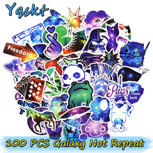 Hot Sale 100 Pcs Galaxy Stickers Graffiti Sticker for Laptop Luggage Fridge Car Styling Bike Accessories Cool Stickers