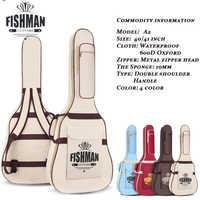 """40/41 """"étui de guitare épaissir Folk Flattop Balladry acier-string acoustique classique 40 41 étanche Guitarra sac sac à dos"""