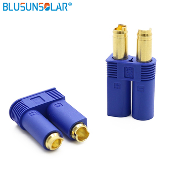 100 Pairs/Lot EC5 Banana Plug Bullet Connector Female+Male For RC Part Solar