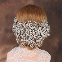YouLaPan HP240 Bride hair accessories crystal Headpieces jewelry fascinators for weddings wedding accessories