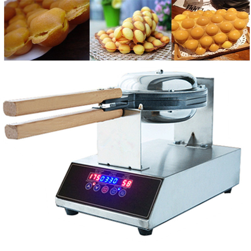 Supplier Hot Sale Electric QQ Egg Cake Oven Egg Cake Baker Waffle Making Machine Egg Waffle Maker For Wholesale