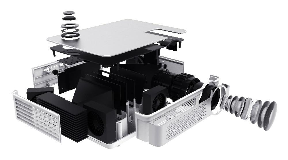 LCD 1080P réel CT580 20