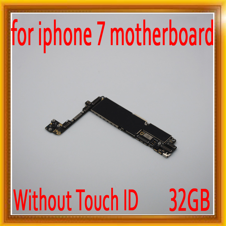 100% full unlocked for iPhone 7 Motherboard without Touch ID,32gb for iphone 7 Logic boards with IOS System,100% Original100% full unlocked for iPhone 7 Motherboard without Touch ID,32gb for iphone 7 Logic boards with IOS System,100% Original