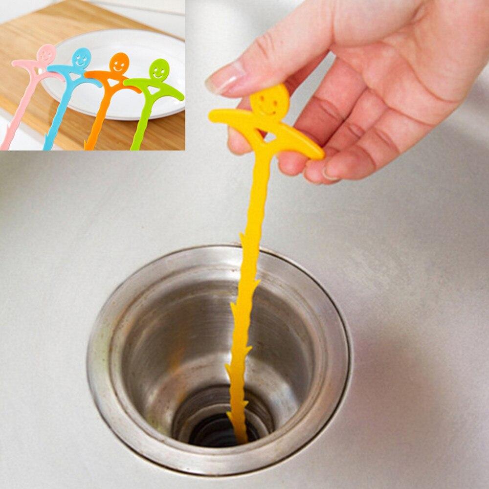 Haushaltsreinigung 1 Stücke Waschbecken Filter Sieb Abflussreiniger Küche Bad Haar Kanalisation Filter Ablass Anti Verstopfung Boden Perücke Entfernung Werkzeuge Abflussreiniger