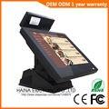 Haina Touch 15 pulgadas pantalla táctil Pos Terminal inalámbrico/sistema Pos/Epos con pantalla de cliente