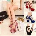 2017 Caliente Nuevas mujeres del estilo sexy zapatos de tacones altos alternativo sandalia tacón de aguja de alta zapatos de tacón alto sandalias de las señoras populares celebrity