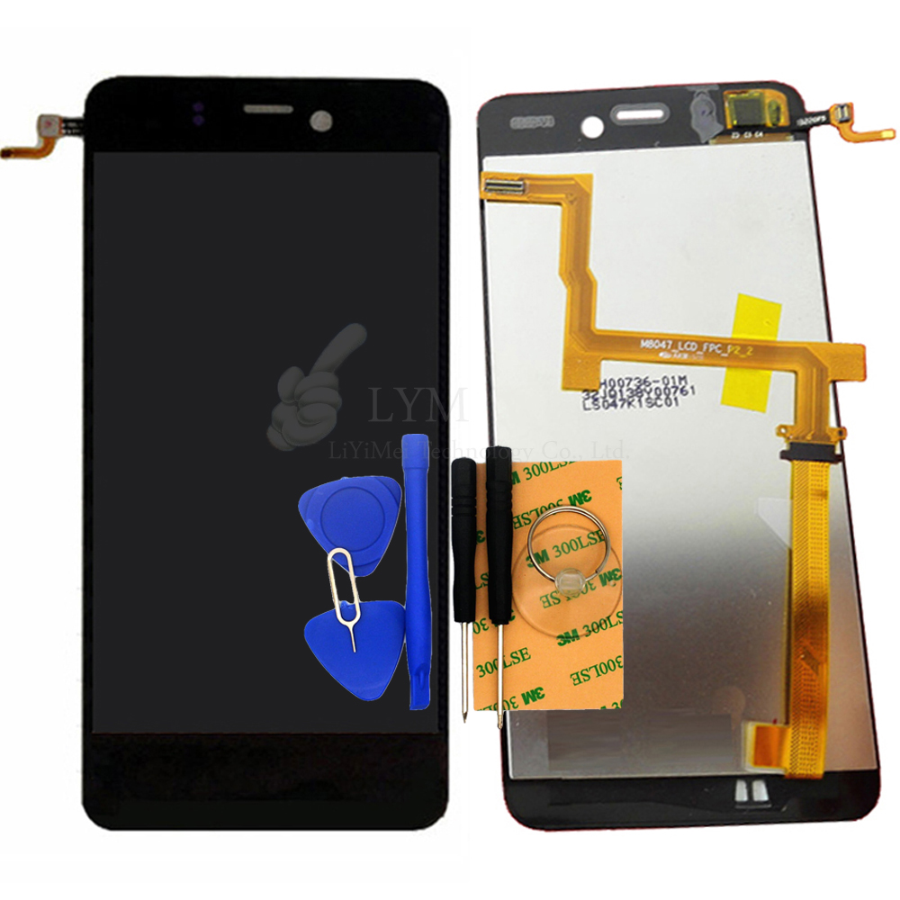 4 7 LCD TP for Highscreen Alpha Ice LCD Display Touch Screen Digitizer Assembly Smartphone Replace