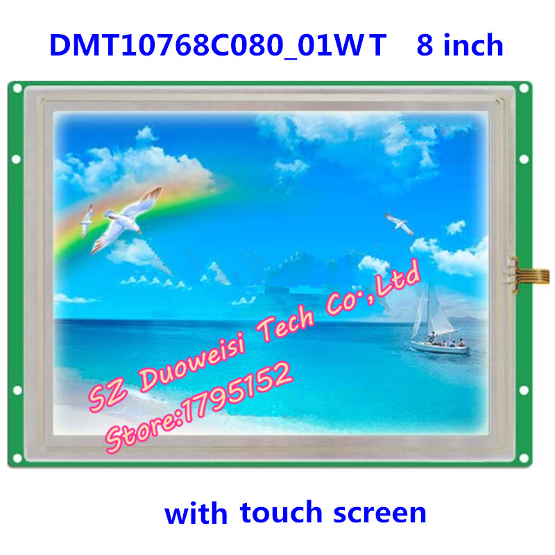 DMT10768C080_01WT XGA screen DGUS 8 serial panel configuration screen resistive touch screen полотенцесушитель domoterm dmt 109 т5