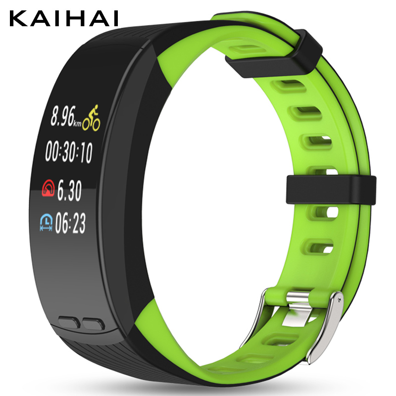 KAIHAI smart watch fitness tracker wristband bracelet gps Positioning without phone Pedometer Heart rate Monitor Pace