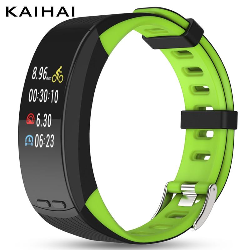 KAIHAI smart watch fitness tracker bracelet bracelet gps Positionnement sans téléphone Podomètre Moniteur de fréquence Cardiaque Rythme vitesse