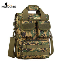 Outdoor Molle  handbag Trekking Tote Men Women Tactical Shoulder Bags Camouflage Multifunction Traveling Commute Bags  XA450WD