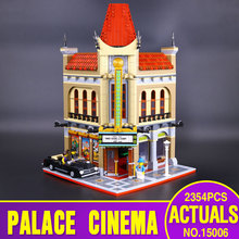 Pesale LEPIN 15006 2354pcs Palace Cinema Model Building Blocks set Mini figures Bricks Toys Compatible with  10232 Gift