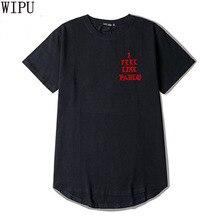 WIPU 2017 Kanye West The I Life Of Pablo Kanye T shirt Men Summer Brand Clothing T-Shirt I Feel like Paul Kanye Tee Shirt Homme