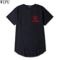 WIPU 2017 Kanye West The I Life Of Pablo Kanye T Shirt Men Summer Brand Clothing